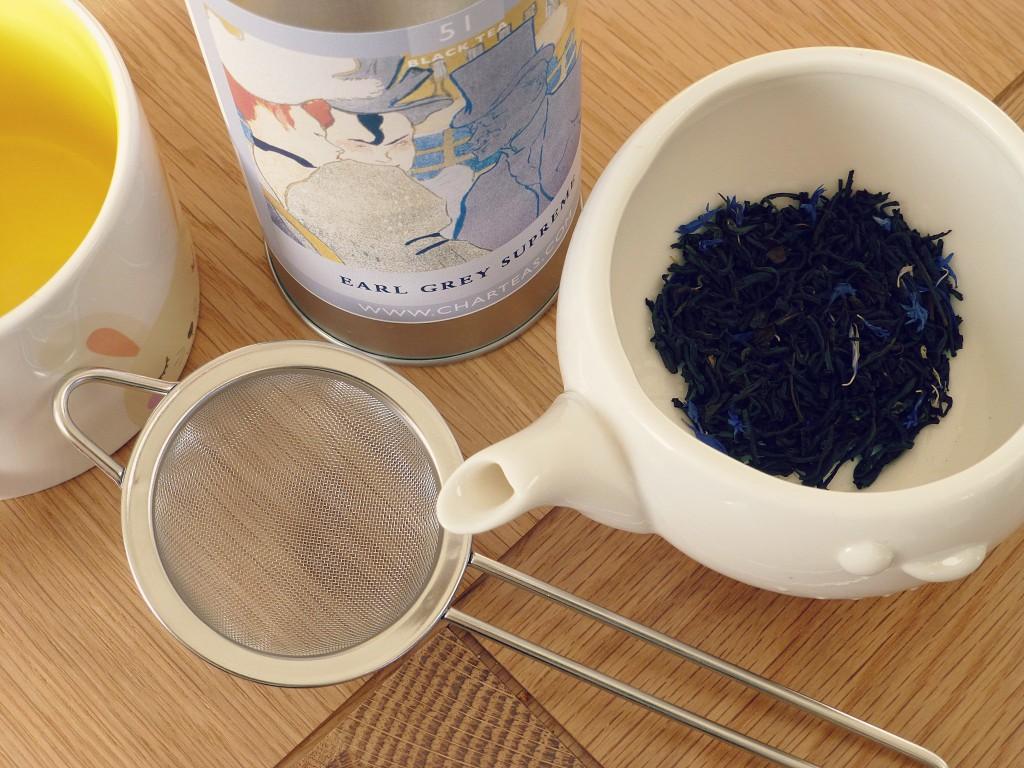 Char Earl Grey Supreme tea