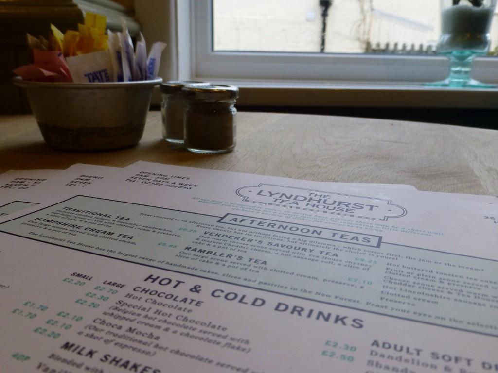 We stopped at The Lyndhurst Tea House for dessert.