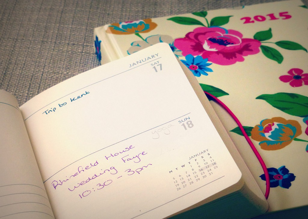 My personal 2015 diary