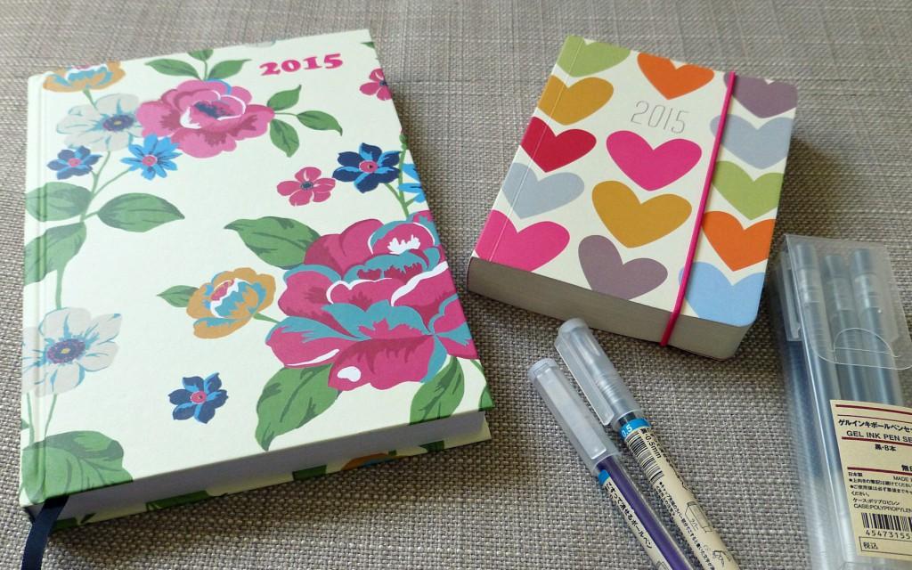 My 2015 diaries