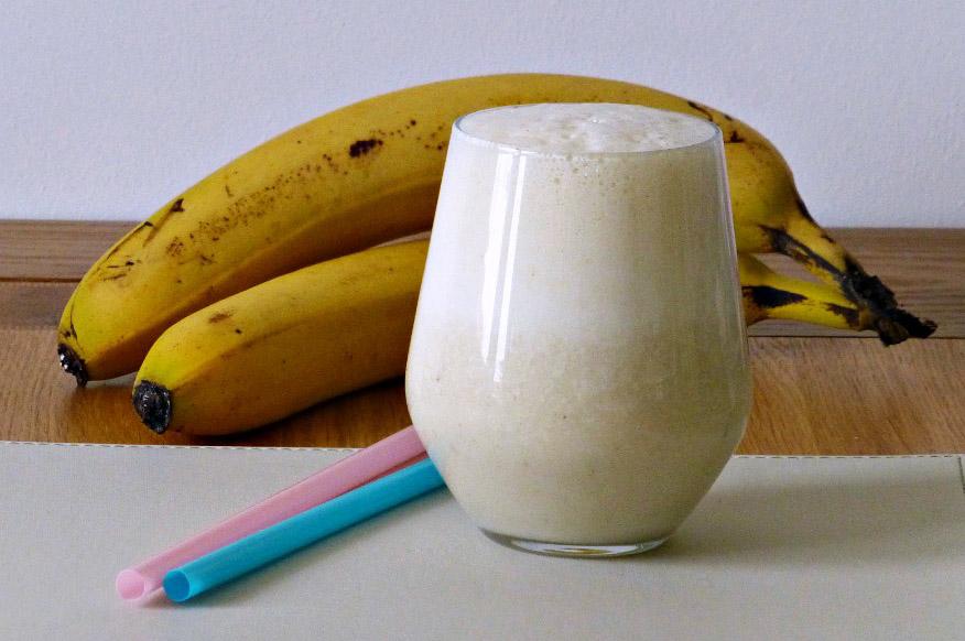 Ripe Banana Milkshake