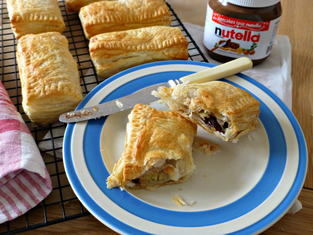 banana and nutella hot pocket