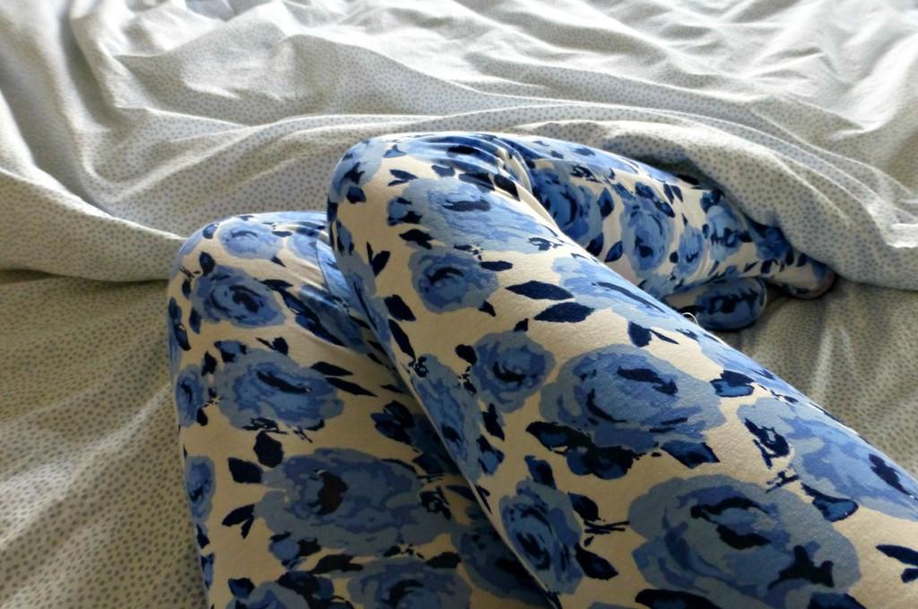 Primark blue flowers pyjamas