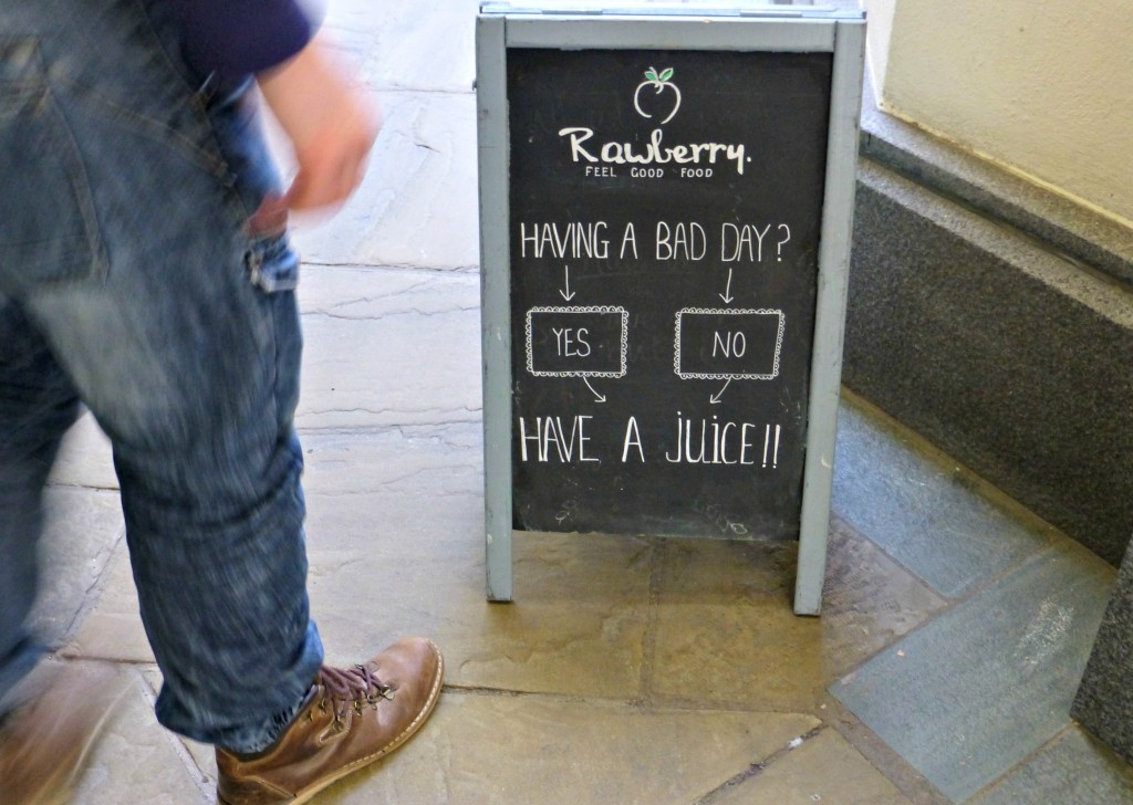Rawberry have a juice