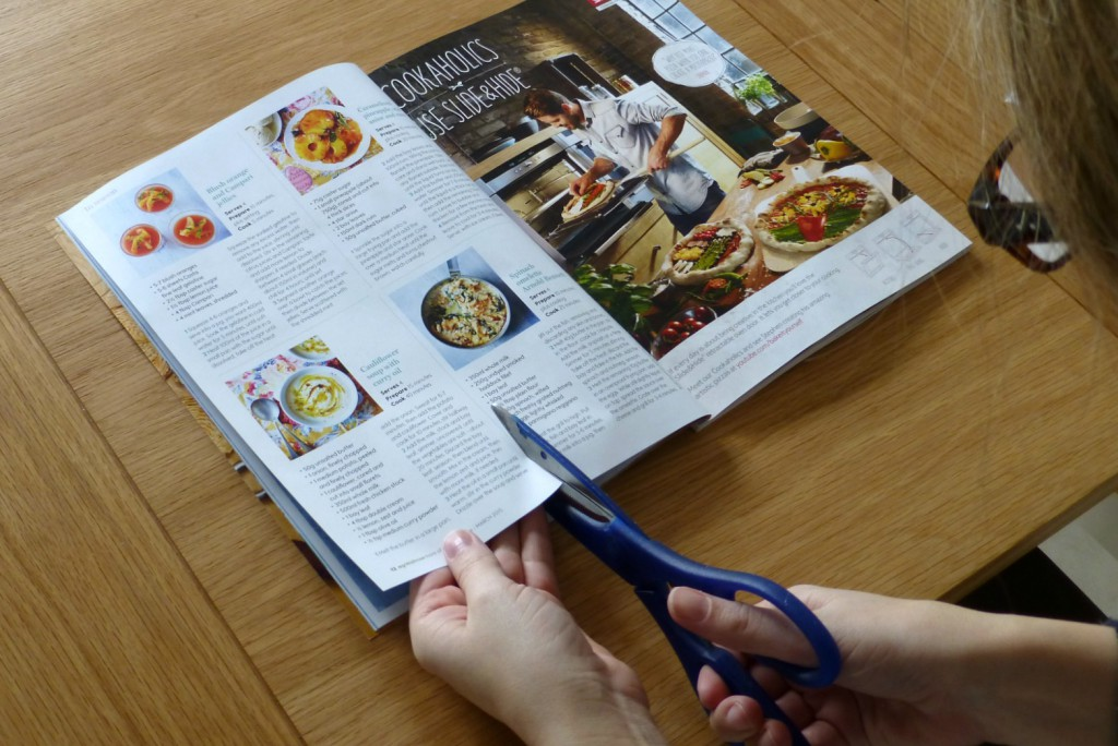 Meal planning ideas from magazines