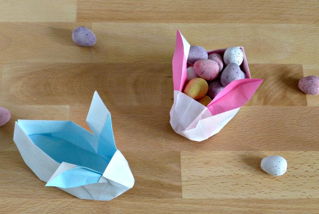 How To Do Origami Easter Egg
