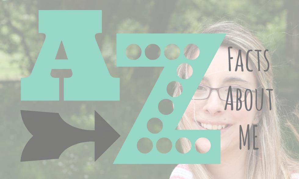 A-Z Facts about me hello deborah