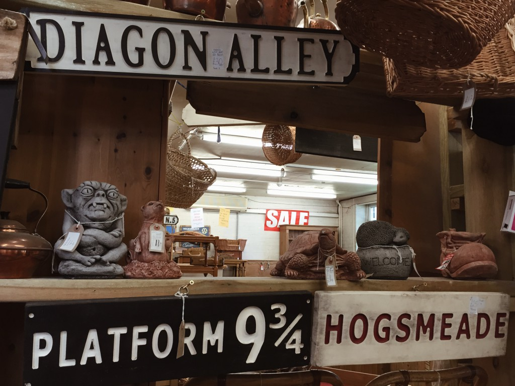 Molly's Den Harry Potter Diagon Alley and Platform 9 3/4 signs