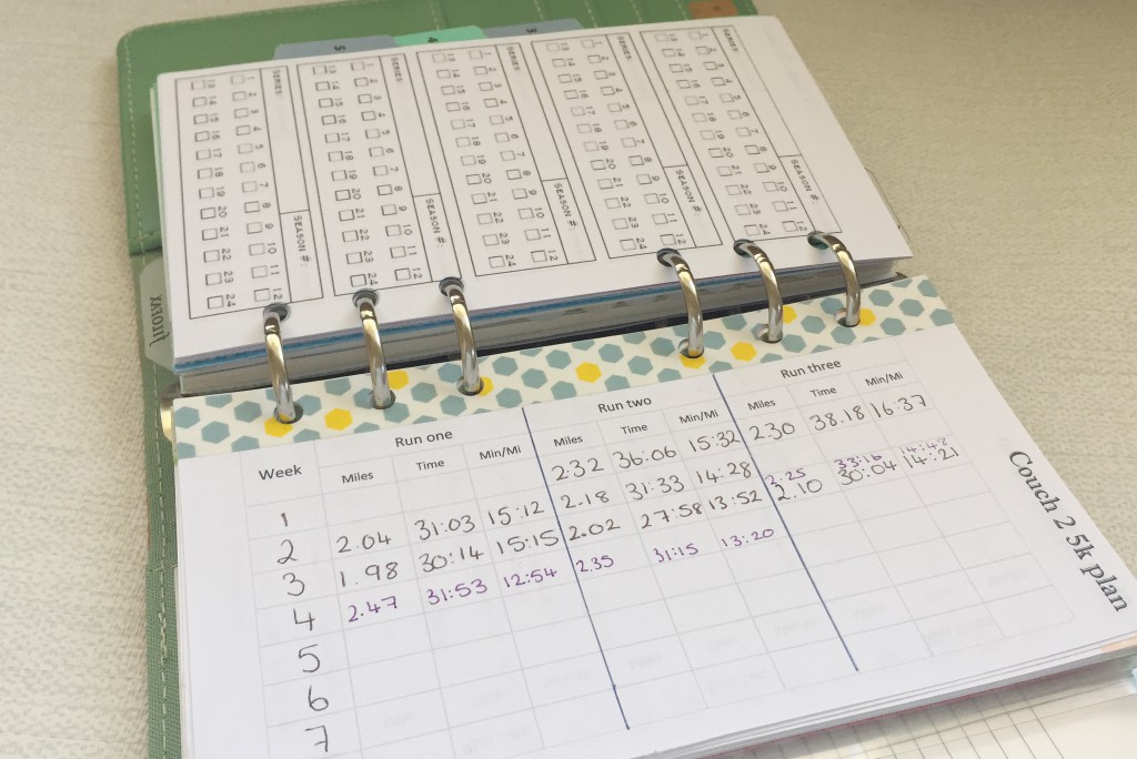 Filofax personal lists and other inserts