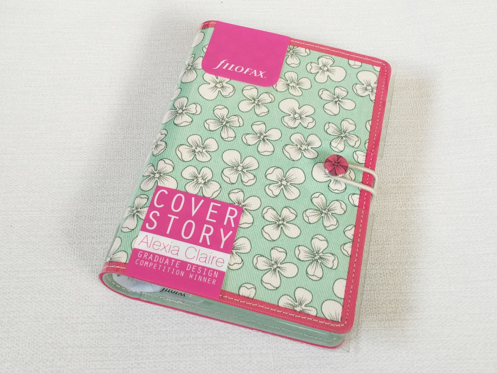 Filofax personal English Bloom cover story