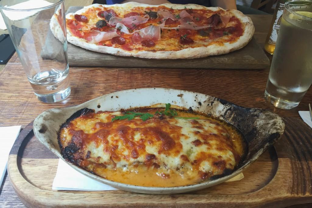 Wildwood restaurant lasagne
