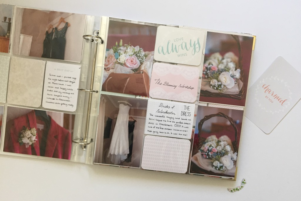 Project Life southern wedding album bloooming worshop