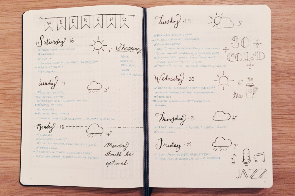 My journal entry week 1