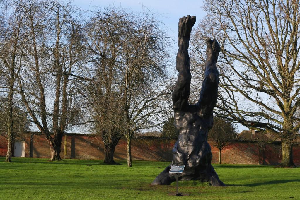 Mottisfont National Trust statue