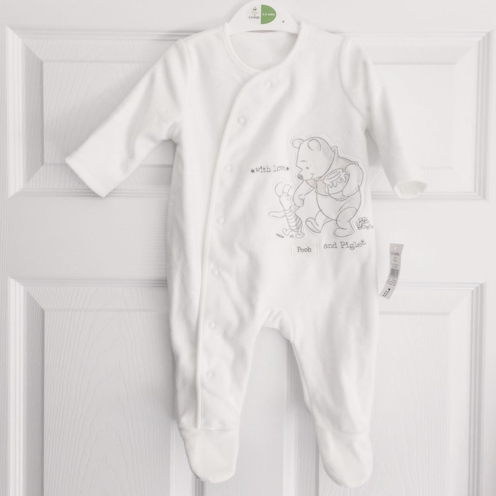 Winnie the Pooh sleepsuit from Asda
