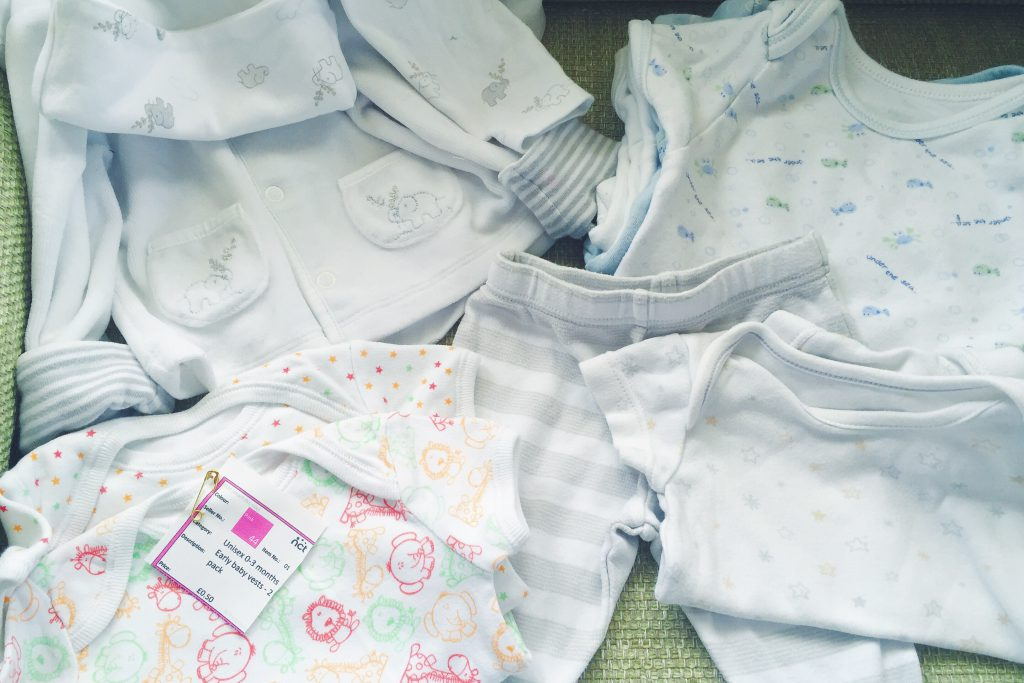 NCT nearly new sale baby clothes haul