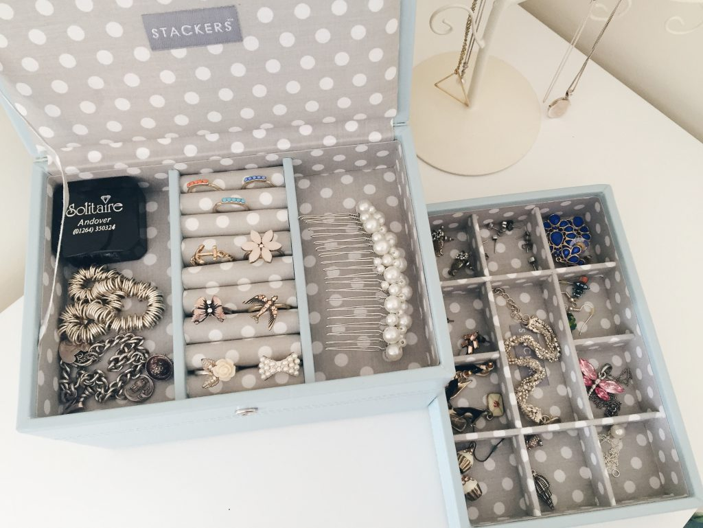 Stacked jewellery box