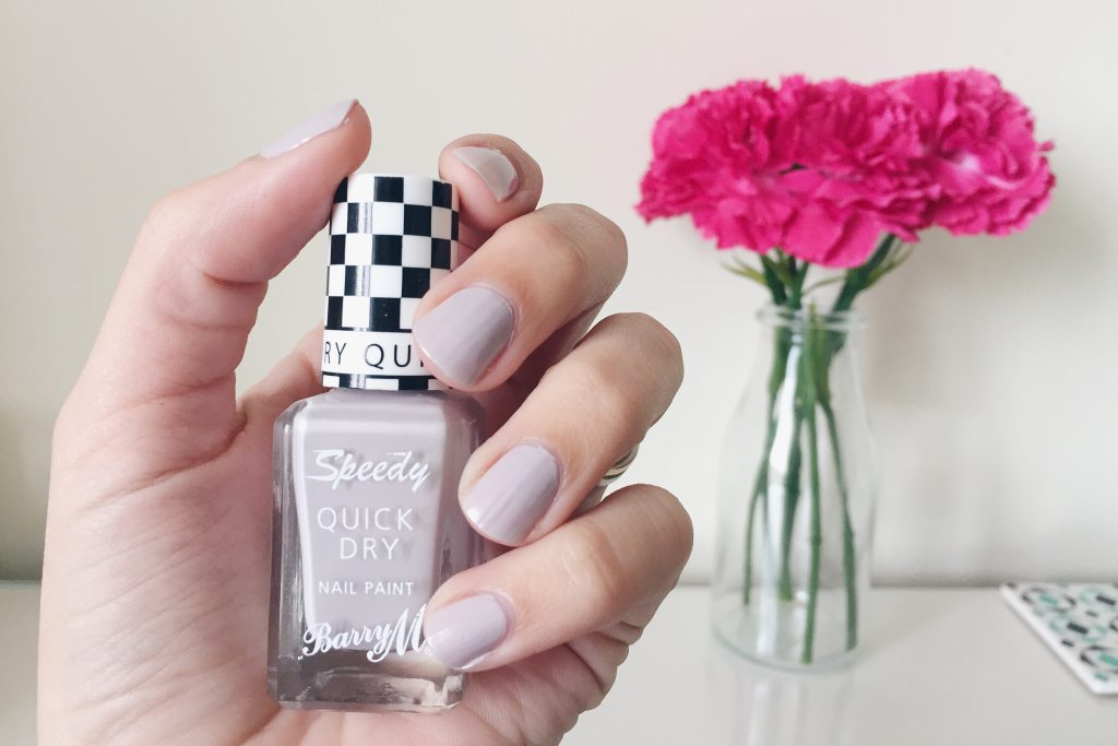 Barry M Quick Dry in Pit Stop (grey)