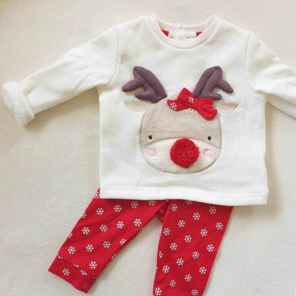 Tesco baby christmas outfit