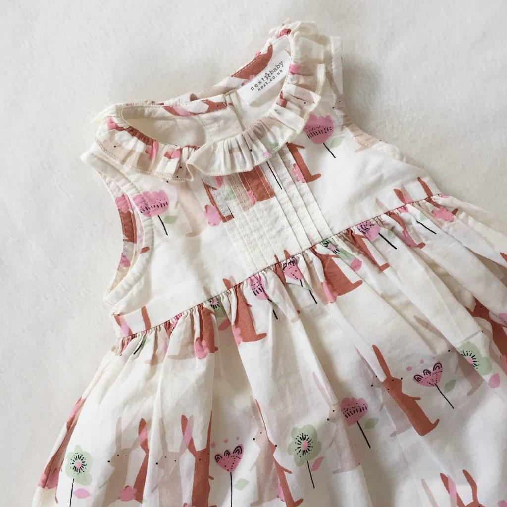 Next bunny print dress