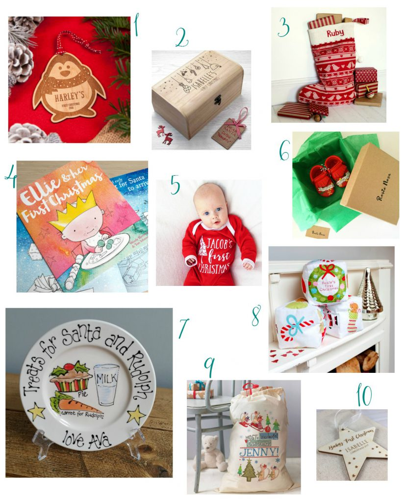 Baby's first Christmas wishlist ideas