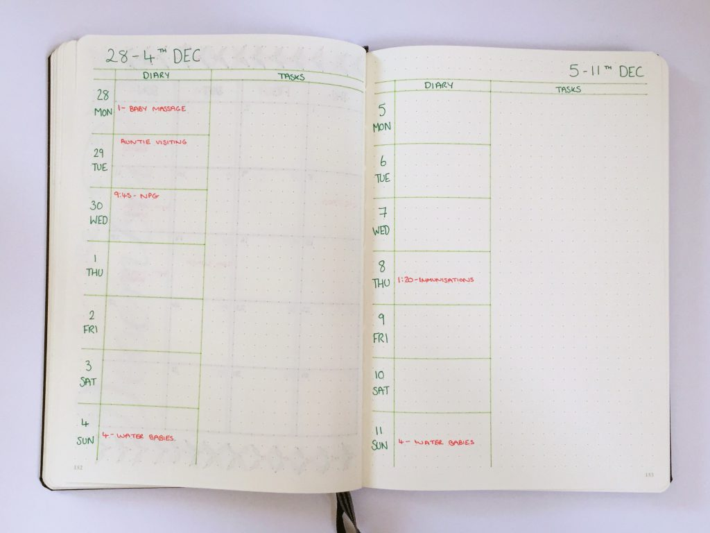 Megarainbowdash2000 S Journal: December's Bullet Journal And Christmas Spreads