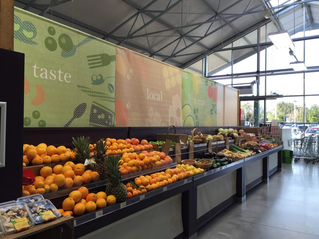 Roseboure Garden Centre food hall