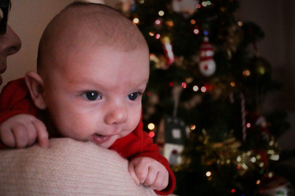 Eleanor at Christmas