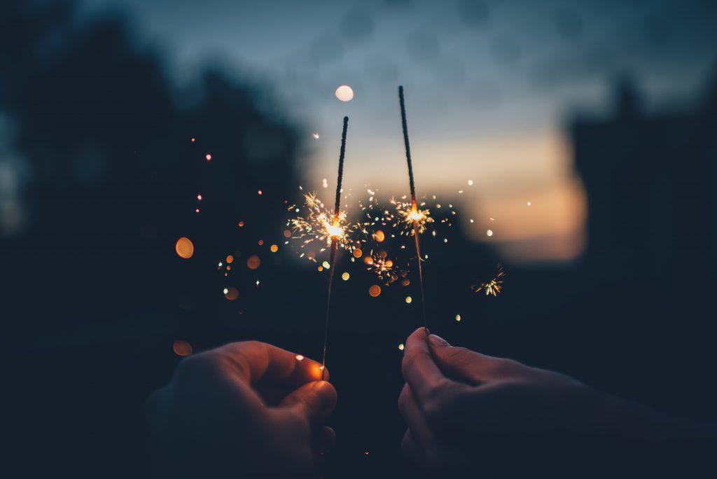 Goals for 2017 - sparklers