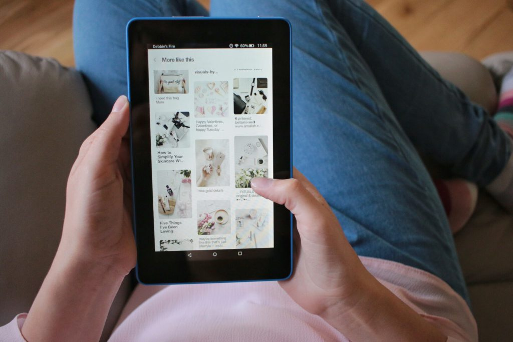 """Pinterest on Amazon Kindle Fire 7"""" Review"""