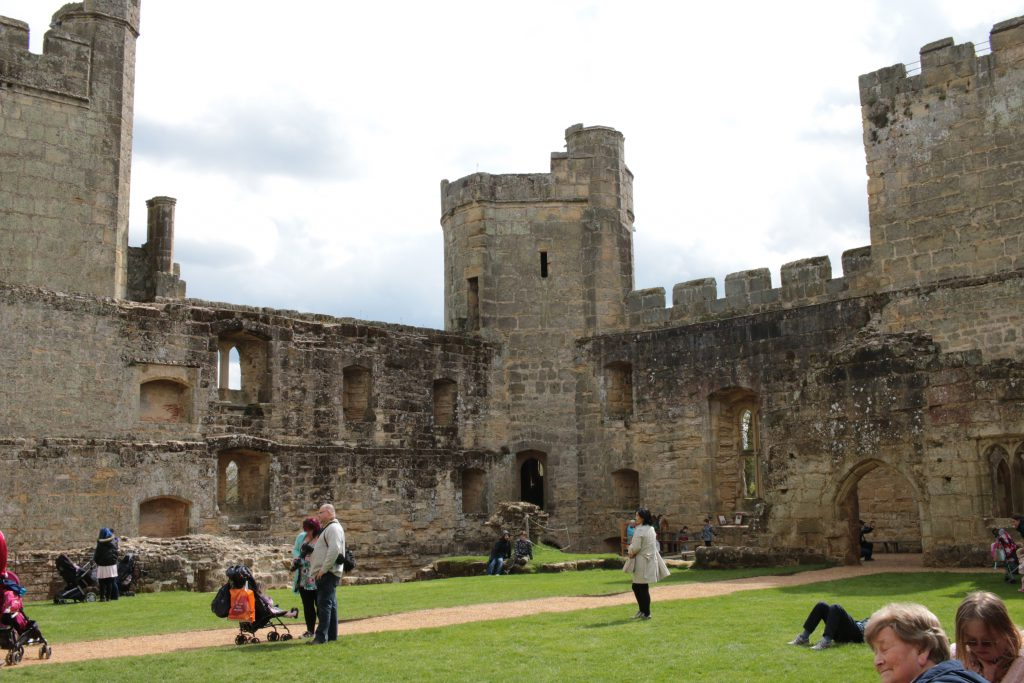 A day out at Bodiam Castle National Trust in East Sussex