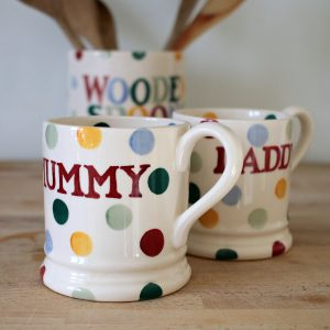 Emma Bridgewater Mugs and Wooden Spoons jar