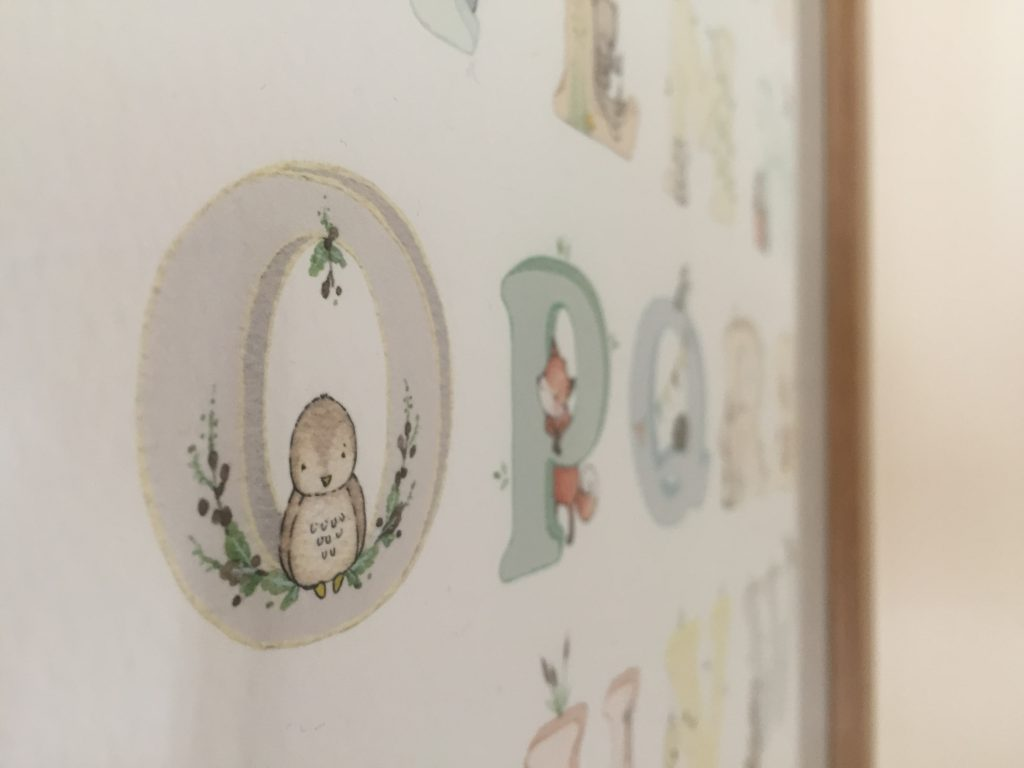 Eleanor's Nursery ABC print