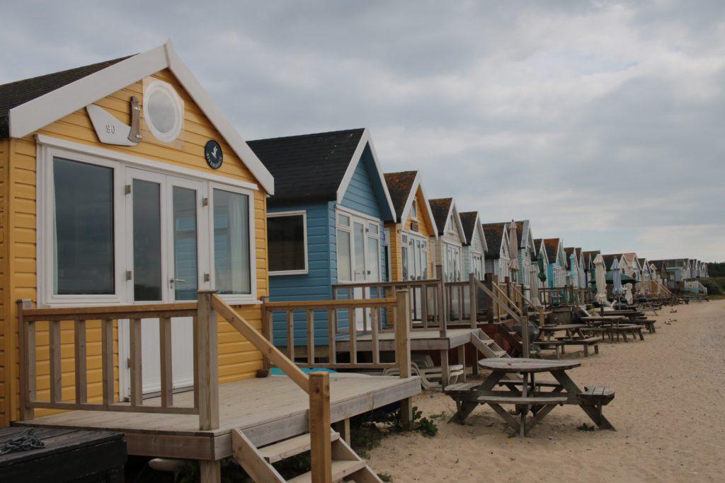 Mudeford Spit Beach Huts Dorset