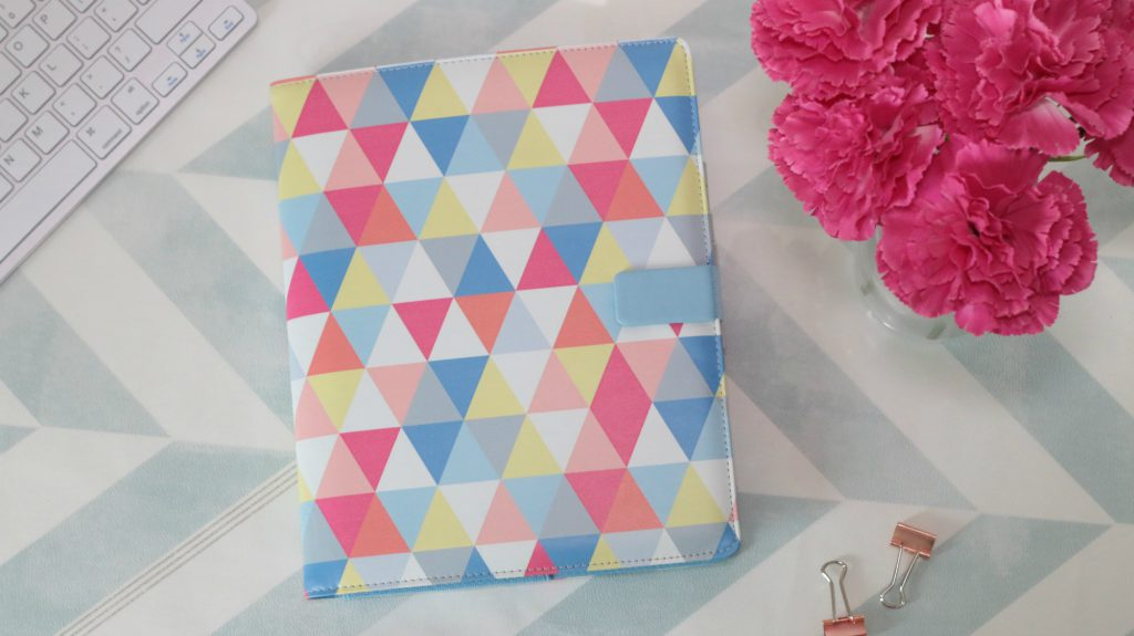 Filofax chevron Tablet Case Review