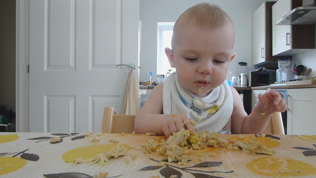 chicken thai green curry baby led weaning