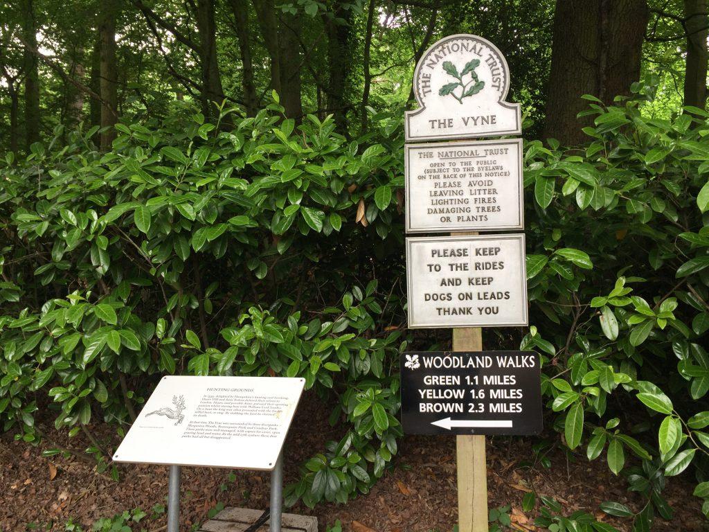 The Vyne National Trust Basingstoke woodland walk