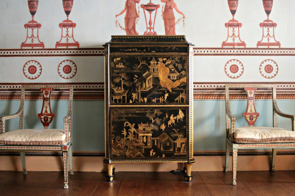 Osterley Park furniture in the house