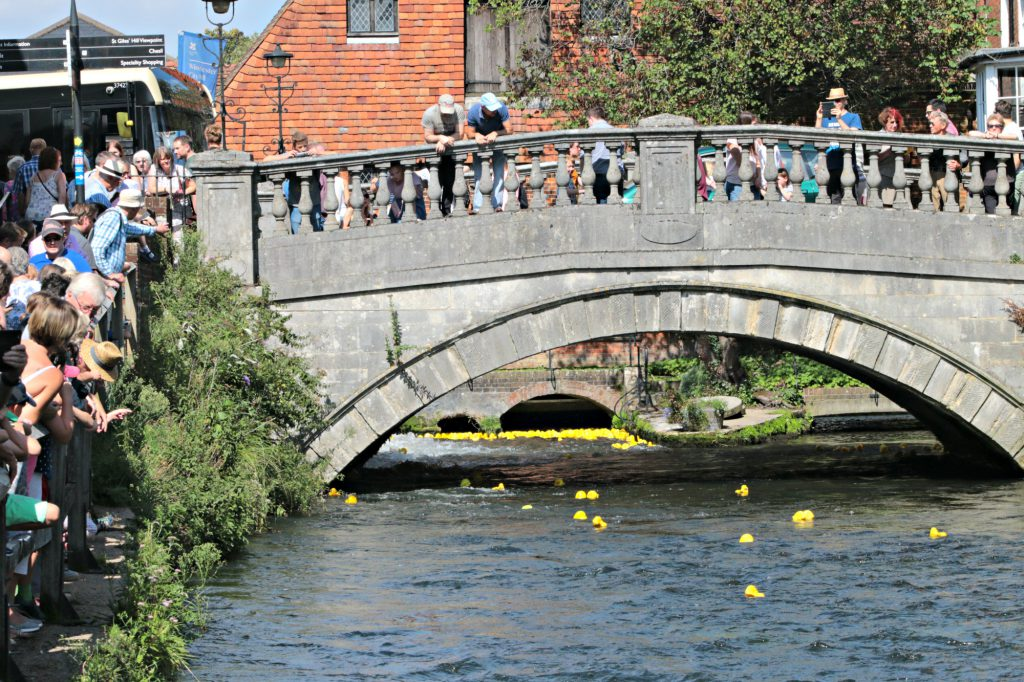 Winchester Duck Race for Winchester City Mill, National Trust