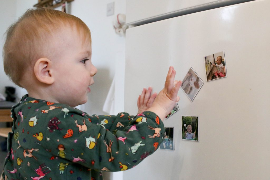 Lifecake photos printed as magnets