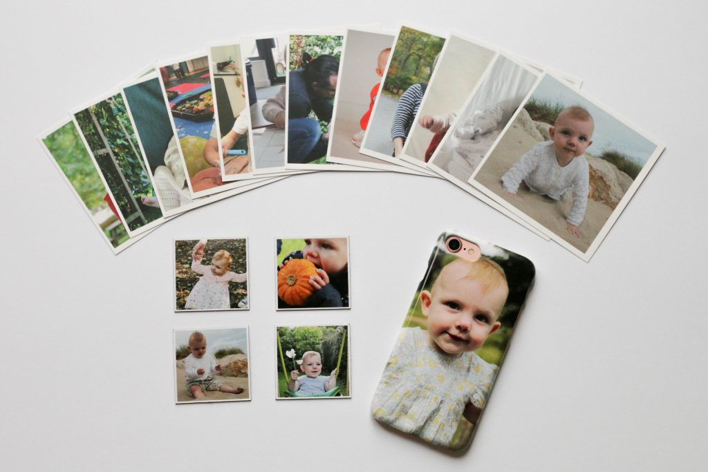 Lifecake photos printed as a phone case, magnets and prints
