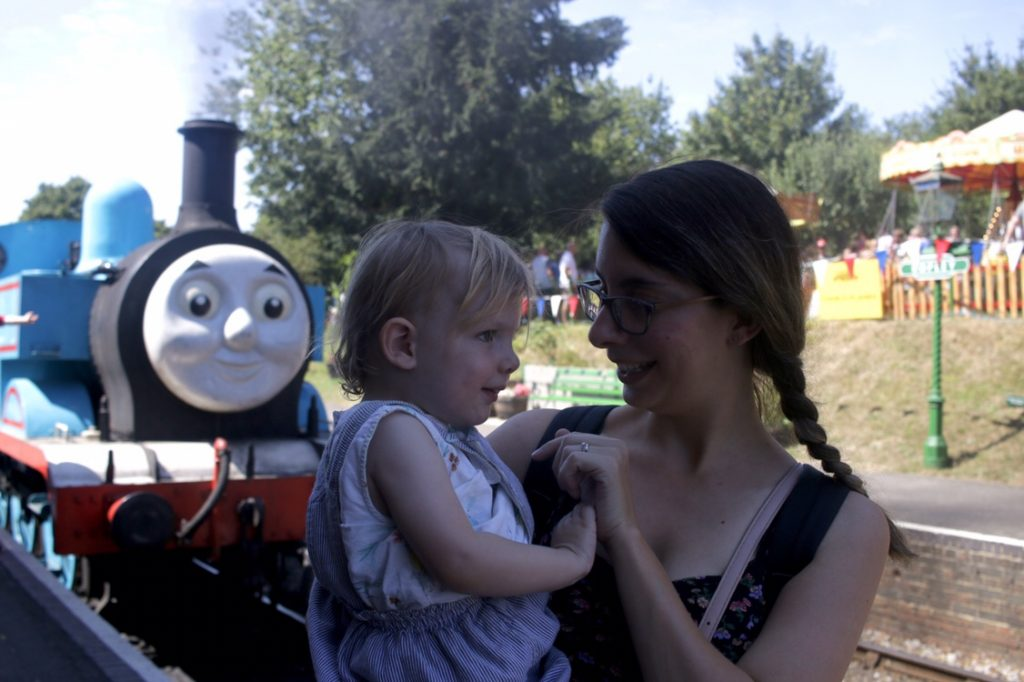Day out with Thomas at The Watercress Line in Ropley with Eleanor