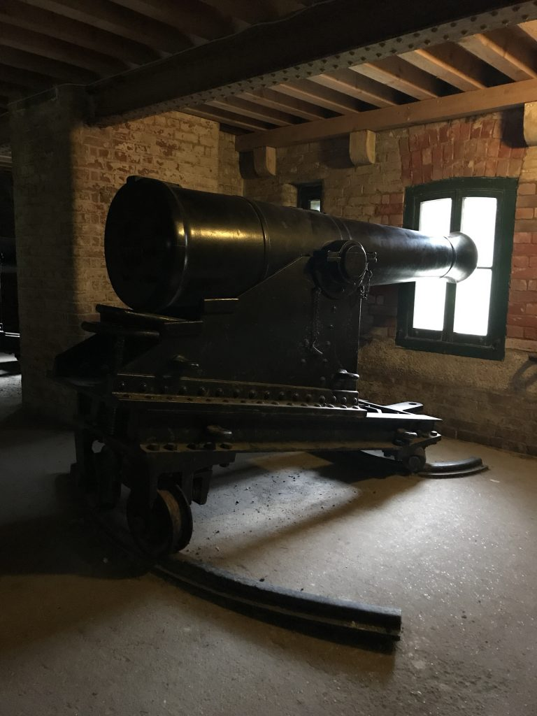 Gun at Fort Nelson