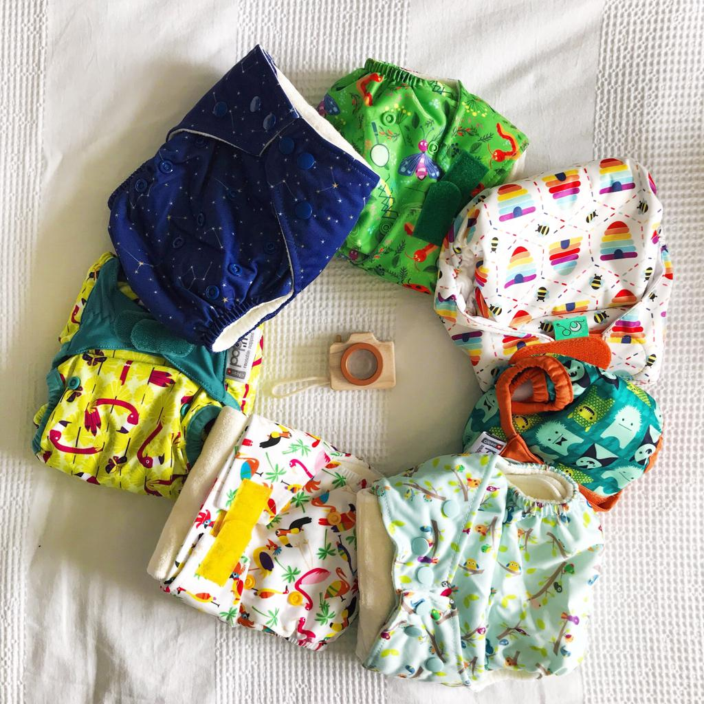 Cloth nappies. How to get started with cloth nappies.